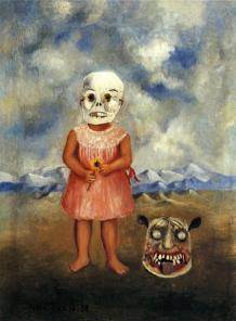 girl-with-death-mask-she-plays-alone-1938